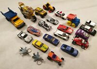 Vintage Bundle of Die Cast Toy Cars x22 Matchbox Hot Wheels Rory Racing Car