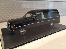 Mercedes W123 funeral car schwarz matt 1:43 Neo neu & OVP 45280