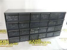 "Heavy Duty 24 Drawer Steel Organizer Cabinet 17"" X 18"" X 34"""