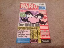 Wario Ware: Smooth Moves Instruction Book Manual Wii