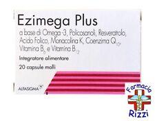 EZIMEGA PLUS 20 CAPSULE INTEGRATORE OMEGA 3 MONACOLINA