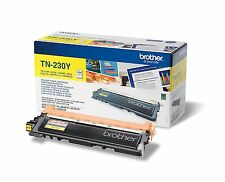 ORIGINAL TONER - BROTHER TN-230Y - JAUNE - NEUF
