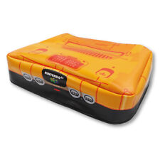 Nintendo 64 Funtastic Console Dust Cover N64 - Vinyl (Fire Orange/Black) NEW