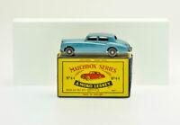 "Matchbox Moko Lesney No.44 ""Rolls-Royce Silver Cloud"" Original Box 1950s Diecast"