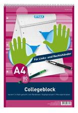 #10xCollegeblock mit Motiv A4 80BL LIN 26