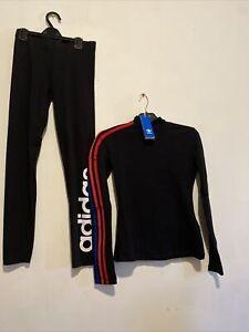 Adidas Long Sleeve Top Jumper & adidas leggings size 12