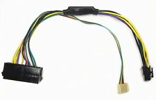 ATX 24pin to Motherboard 2-port 6pin Power Supply Cable F HP Z220 Z230 SFF 30cm