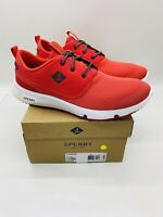 SPERRY Men's Fathom Shoe Lace Up Sneaker Red US 10.5 EUR 44
