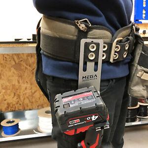 Drill Tool Belt Clip Impact Power Hanger Buckle Hook Tools DIY Handly Storage
