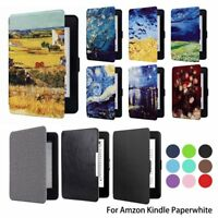 For All Amazon Kindle Paperwhite 1 2 3 6'' 2012-2016 Case Cover Smart Wake Sleep