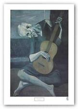MUSIC ART PRINT Old Guitarist by Pablo Picasso