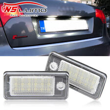Canbus 18-SMD LED License Plate Lights for Audi A3/S3 A4/S4 A8/S8 A6 A8 Q7 RS