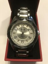 Burgi Swiss Quartz Diamond Dial Women's Watch