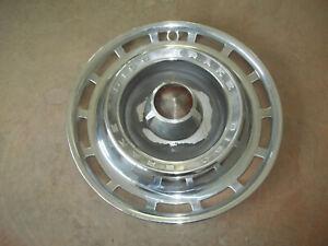 "1966 66 Dodge Chrysler Plymouth Hubcap Rim Wheel Cover Hub Cap 15"" DISC OEM 579"