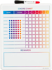 U Brands Contempo Magnetic Dry Erase Chore Chart 11 X 14 Inches White Frame
