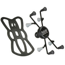 """RAM-HOL-UN8BU RAM Universal X-Grip® II Holder with 1"""" Ball for Small Tablets"""