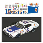 15 Bobby Isaacs STA-POWER 1973 1/64 scale decal AFX Tyco Lifelike