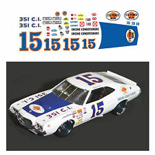 #15 Bobby Isaacs STA-POWER 1973 1/64 scale decal AFX Tyco Lifelike