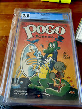 Pogo Possum (1949 Series) #4 Cgc 3.0