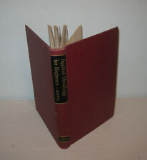 APPLIED METALLURGY FOR ENGINEERS MALCOLM BURTON CORNELL 1956 HC ILLUST GOOD+