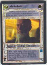 Star Wars CCG Reflections I (1) FOIL Obi Wan Kenobi
