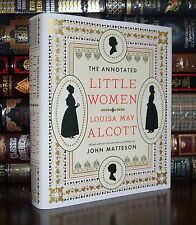 The Annotated Little Women by Louisa May Alcott Deluxe Hardback Gift Edition