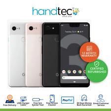Google Pixel 3 XL 64GB 128GB Black White Android Unlocked - SIM Free Smartphone