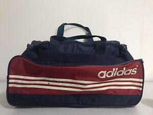 Vintas Adidas Sportsback Large Retro Holdall Gym Bag
