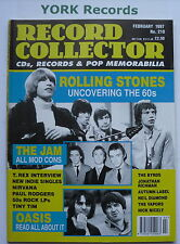 RECORD COLLECTOR MAGAZINE - Issue 210 February 1997 - Rolling Stones / Oasis