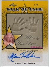 2011 POP CENTURY AUTO: MAMIE VAN DOREN #5/5 STUNNING STARLETS AUTOGRAPH PLAYBOY