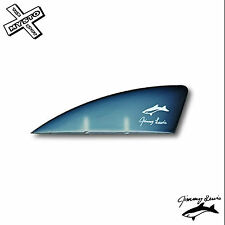 "JIMMY LEWIS 1.5"" KITEBOARD FIN G-10 TWINTIP KITE BOARD SURF"