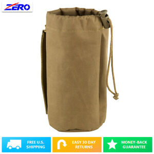 """Tan MOLLE Gear Hydration Water Bottle Pouch Utility Holder PALS Straps 3.25"""""""