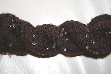 Louisa Harding Grace Silk / Merino Wool Hand Beaded Yarn  #09 Chocolate