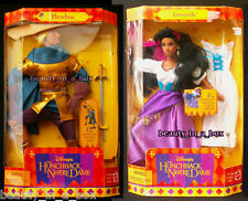 "Esmeralda Doll Phoebus Disney Hunchback of Notre Dame Lot 2"" G"