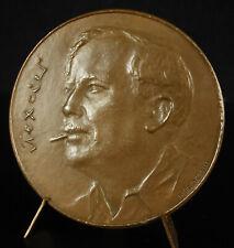 Médaille Jean Texcier peintre & journaliste résistant Presse clandestine c1960