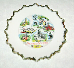Vintage Pennsylvania Souvenir Plate
