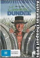 Crocodile Dundee  DVD NEW, FREE POSTAGE WITHIN AUSTRALIA REGION ALL