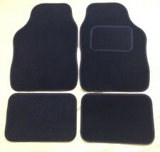 AUDI RS6 (02-04) 4 PIECE BLACK CAR FLOOR MAT SET