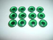 6 Pair Green Plastic Safety Eyes for Teddy Bear/Doll/Stuffed Animal