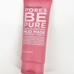 Formula 10.0.6 Pores Be Pure Skin Clarifying Mud Mask 3.4fl oz