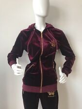 New Maximillion Purple Velvet Men's Unisex Sport Track Suit Costume Size S