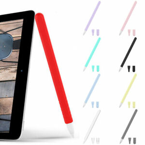 For Apple iPad Pencil 2nd Generation Soft Silicone Grip Case Cover Pen Protector
