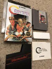 Nintendo Nes Game Cib Contra Classic Konami Boxed Box Shooter Run And Gun Code