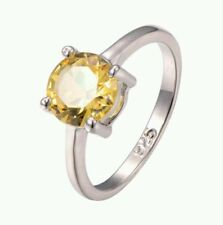 Citrine White Gold Filled 14k Fashion Jewellery