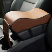 Car SUV Center Box PU Console Armrest Cushion Mat Pad Wear Cover Durable F7Q4