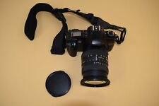 Canon EOS Rebel G Film Camera With Canon Zoom Lens EF 28-200mm No Battery