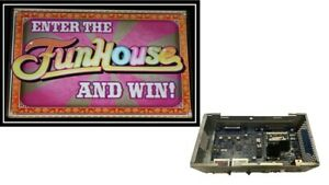 WILLIAMS  BB1 CPU WITH FUNHOUSE SOFTWARE & DUAL SCREEN TOP CARD ALSO INCLUDED