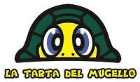 "TP Rossi Turtle ""La Tarta del Mugello "" DECAL STICKER 130mm x 76mm /1045"