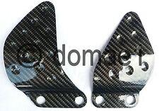 Kawasaki ZX6R carbon fiber heel guards 1998-2004 plates protectors ZX636A ZX636B