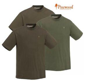 T-Shirt Pinewood 3er Pack - green/brown/khaki
